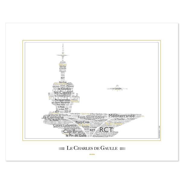 "Affiche ""Charle de Gaulle"""