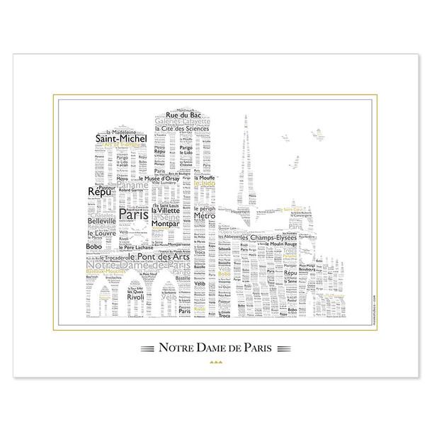 Affiche - Notre Dame de Paris -