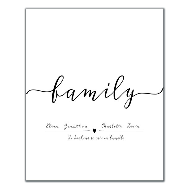 Affiche Family