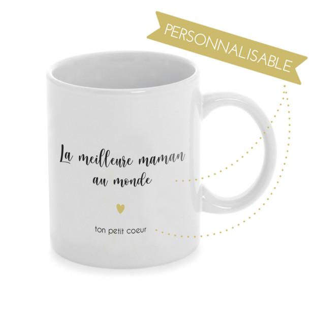 Mug texte personnalisable