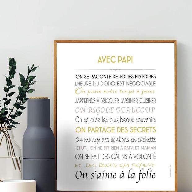 Affiche Papi