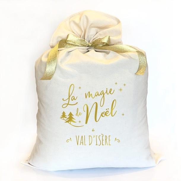 Sac de Noël XL, personnalisé, Mes Mots Déco